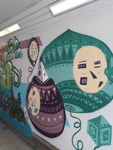 Danielov grafit na železniški postaji Litija