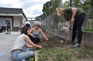 Urejanje okolice s prostovoljci