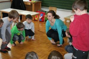 Sarah pri pouku 1